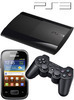 Bundle Sony PS3 SuperSlim 12GB + Samsung S5300 Galaxy Pocket